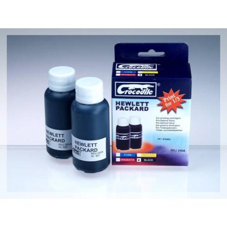 CROCODILE RDJ 240-A, 200ml samostatný inkoust pro HP 51640A, 40.