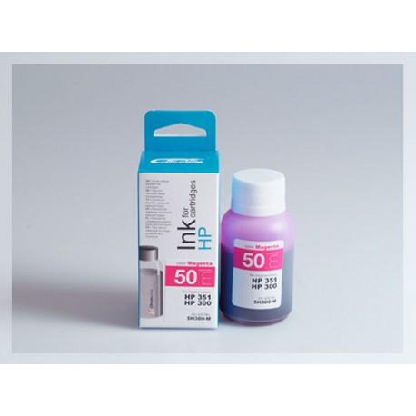 CROCODILE 5H300-M, 50ml samostatný inkoust pro HP CB337,351-CB338,351-CC644EE,300XL-300