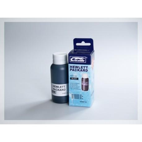 CROCODILE 1H301-A, 100ml samostatný inkoust pro HP CC653, 901-CC654,901XL-CH561EE,301