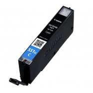 Canon CLI-551C XL kompatibilní cartridge, 6444B001, 11ml, cyan - azurová s čipem,