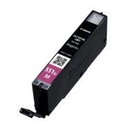 Canon CLI-551M XL, kompatibilní cartridge, 6445B001, 11ml, magenta - purpurová s čipem,
