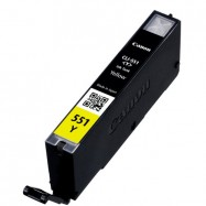 Canon CLI-551Y XL, kompatibilní cartridge, 6446B001, 11ml, yellow - žlutá s čipem,