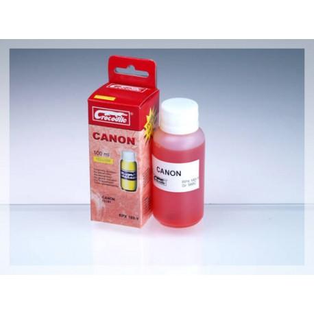 CROCODILE RPX 180-Y, 100ml samostatný inkoust pro CANON CLI-8Y.