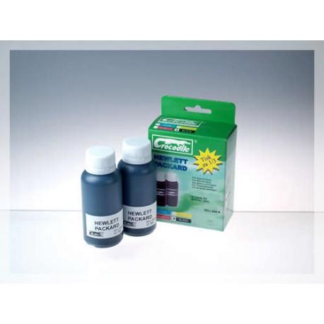 CROCODILE RDJ 264-A, 200ml samostatný inkoust pro HP CC640EE, 300 - CC641EE, 300XL.