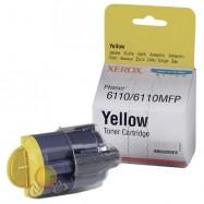 Originál Xerox 106R01204+chip, Phaser 6110/MFP 6110, 1000 stran, yellow - žlutá