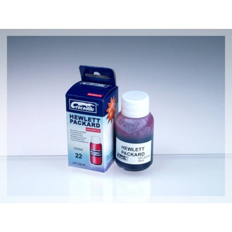 CROCODILE HPI220-M, 50ml samostatný inkoust pro HP C9352A, 22 - HP C9352C, 22XL.