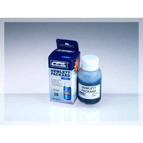 CROCODILE HPI230-C, 50ml samostatný inkoust pro HP C8728A, 28.