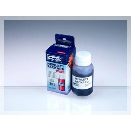 CROCODILE HPI235-M, 50ml samostatný inkoust pro HP CB337, 351 - CB338, 351XL.