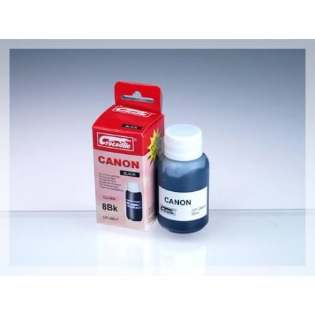 CROCODILE 5C008-A, 50ml samostatný inkoust pro CANON CLI-8Bk.