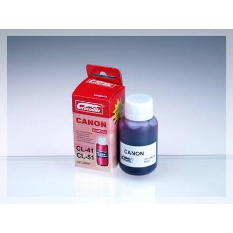 CROCODILE 5C041-M, 50ml samostatný inkoust pro CANON CL-38 / CL-41 / CL-51.