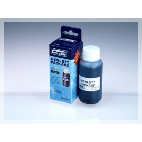 CROCODILE RDJ 120-A, 100ml samostatný inkoust pro HP CB334,54-HP C9351A,21-HP C9351C,21XL