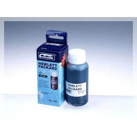 CROCODILE RDJ 140-A, 100ml samostatný inkoust pro HP 51640A, 40 - 51644, 44.