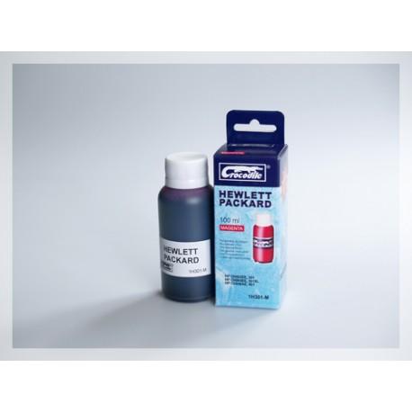 CROCODILE 1H301-M, 100ml samostatný inkoust pro HP CC656, 901-CH562EE,301-CH564EE,301XL