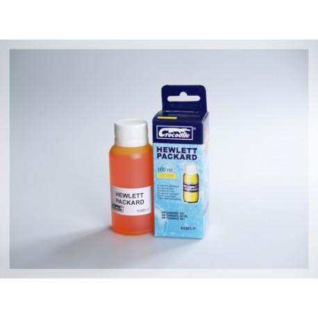 CROCODILE 1H301-Y, 100ml samostatný inkoust pro HP CC656, 901-CH562EE,301-CH564EE,301XL