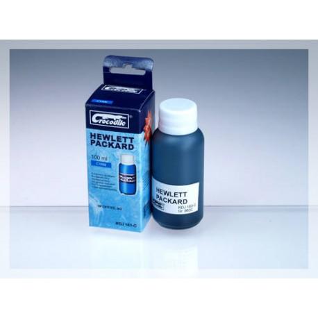 CROCODILE RDJ 163-C, 100ml samostatný inkoust pro HP C8771E, 363.