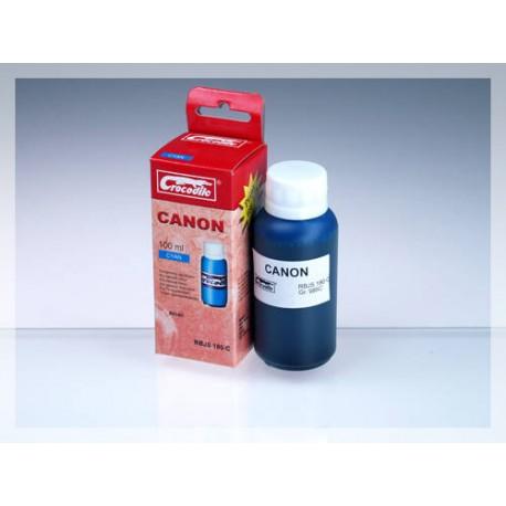 CROCODILE RBJS 180-C, 100ml samostatný inkoust pro CANON BCI-6C.