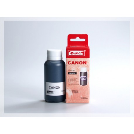 CROCODILE 1C526-A, 100ml samostatný inkoust pro CANON CLI-526BK.