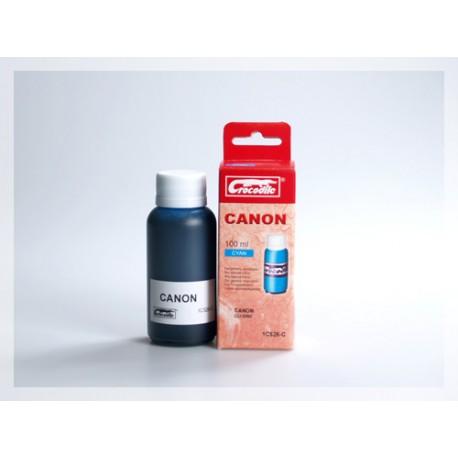 CROCODILE 1C526-C, 100ml samostatný inkoust pro CANON CLI-526C.