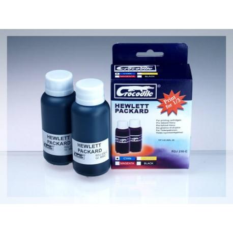 CROCODILE RDJ 230-C, 200ml samostatný inkoust pro HP C8728A, 28.