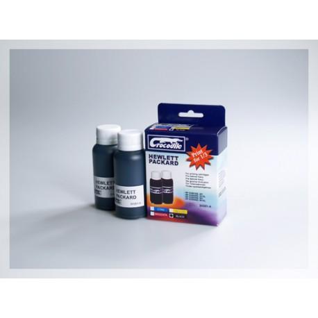 CROCODILE 2H301-A, 200ml samostatný inkoust pro HP C653,901-CC654,901XL-CH561EE,301-301XL