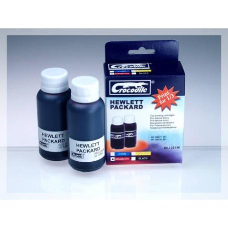 CROCODILE RDJ 235-M, 200ml samostatný inkoust pro HP CB337, 351 - CB338, 351XL.