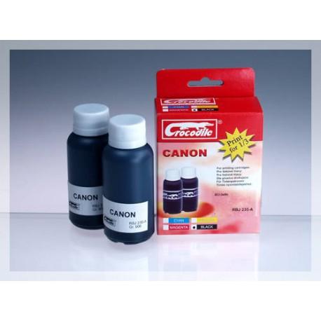 CROCODILE RBJ 230-A, 200ml samostatný inkoust pro CANON BCI-3eBk.