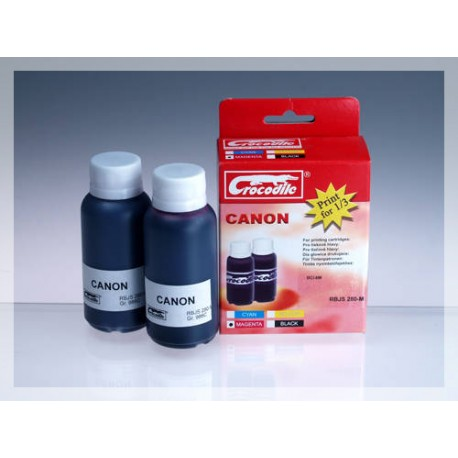 CROCODILE RBJS 280-M, 200ml samostatný inkoust pro CANON BCI-6M.