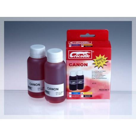 CROCODILE RBJS 280-Y, 200ml samostatný inkoust pro CANON BCI-6Y.