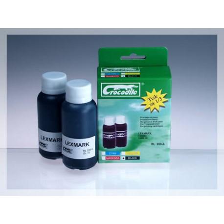 CROCODILE RL 200-A, 200ml samostatný inkoust pro LEXMARK 13400HC.