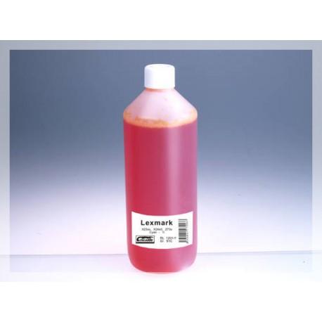CROCODILE RL 1201-Y, 1000ml samostatný inkoust pro LEXMARK 18CX781 Col, 1.