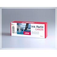CROCODILE 521-B, plnící sada Refill kit, barevná, pro cartridge CANON CLI-521C, M, Y.