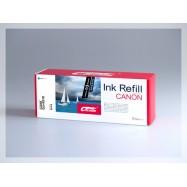 CROCODILE 521-C, plnící sada Refill kit, azurová, pro cartridge CANON CLI-521C.