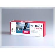 CROCODILE 521-M, plnící sada Refill kit, purpurová, pro cartridge CANON CLI-521M.