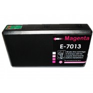 EPSON T701340, kompatibilní cartridge, T7023, C13T70134010, 32 ml, Magenta - purpurová