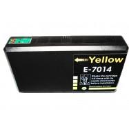 EPSON T701440, kompatibilní cartridge, T7024, C13T70144010, 32 ml, Yellow - žlutá