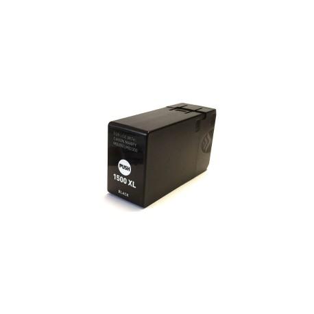 Canon PGI-1500XLBk, kompatibilní cartridge, 9182B001, VYSOKÁ KAPACITA, 43ml, black - černá
