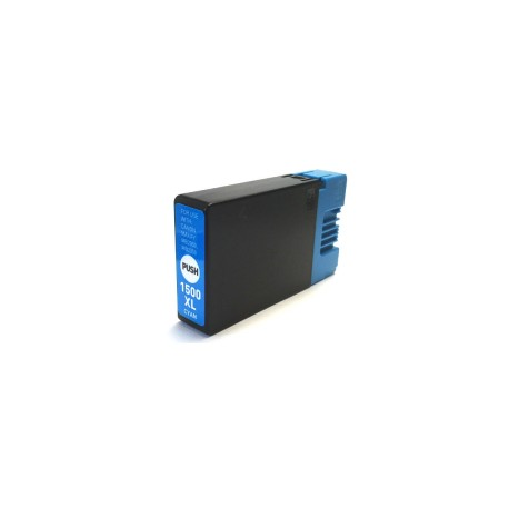 Canon PGI-1500XLC, kompatibilní cartridge, 9193B001, VYSOKÁ KAPACITA, 16ml, cyan-azurová