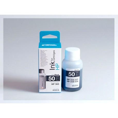 CROCODILE 5H363-A, 50ml samostatný inkoust pro HP C8721, 363 - C8719, 363.