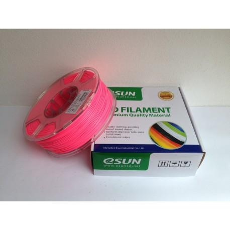 Esun3d tisková struna ABS, 3mm, luminous red - zářivě červená, 1kg/role