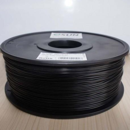 Esun3d tisková struna HIPS, 3mm, black - černá, 1kg/role