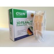 Esun3d tisková struna WOOD, 3mm, natural - přírodní hnědá, 0,5kg/role