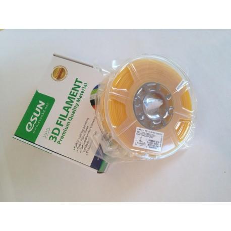 3D Tisková struna Esun3d CZ, PETG, 3 mm, Yellow - žlutá, 1kg/role