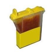 BROTHER LC600Y, kompatibilní cartridge, LC21Y, 12 ml, yellow-žlutá