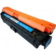HP CE741A, kompatibilní toner, HP 307A, CE741A, 7300 stran, Cyan - azurový