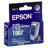 EPSON T007 BK, kompatibilní cartridge, 16ml, black-černá