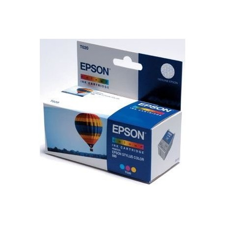 EPSON T020 / T0204 COL, kompatibilní cartridge, 12ml, color-barevná