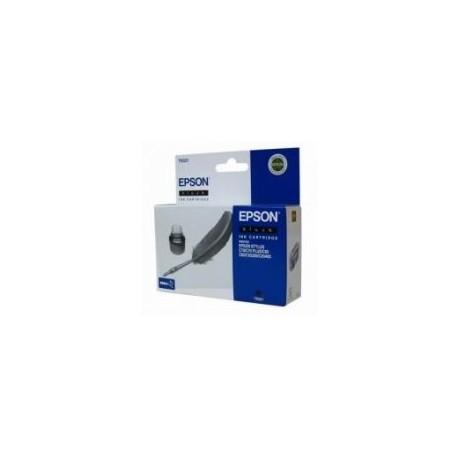 EPSON T0321 BK, kompatibilní cartridge, 32ml-pigment, black-černá