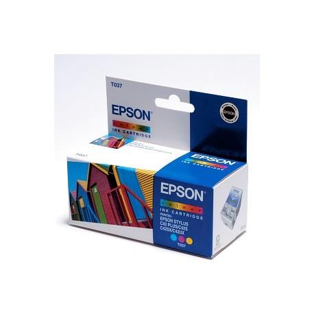 EPSON T037 COL, kompatibilní cartridge, 8.5ml, color-barevná