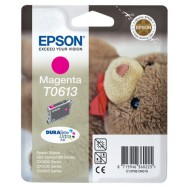 EPSON T0613 Stylus Magenta, kompatibilní cartridge, 18ml, High Capacity, purpurová, bts.