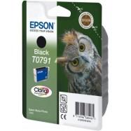 EPSON T0791 BK (EASY - CHANGE), kompatibilní cartridge, 17ml, black-černá